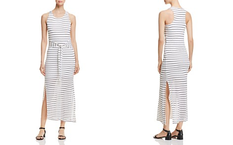Red Haute Striped Tie-Front Maxi Dress - Bloomingdale's_2